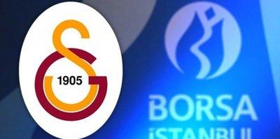 Galatasaray'ın hisseleri uçtu!