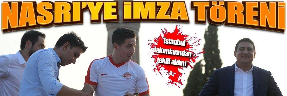 Antalyaspor imza töreni düzenledi