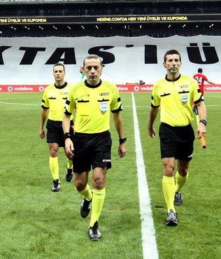 Antalyaspor'dan Cüneyt Çakır'a tepki