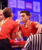 Türk sporcu bilek güreşinde dünya şampiyonu!
