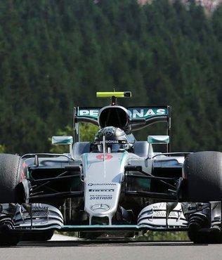 Bel�ika'da pole pozisyonu Rosberg'in