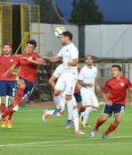 Akhisar'dan hazırlık maçında gol yağmuru