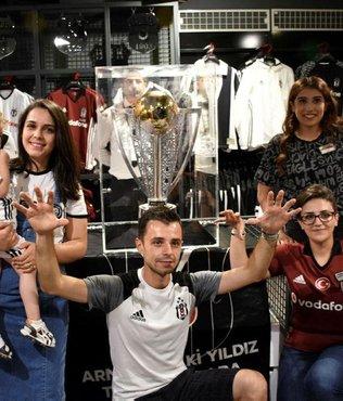 Beşiktaş'ın şampiyonluk kupası Aydın'da