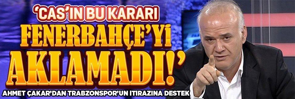 Ahmet Çakar'dan CAS yorumu