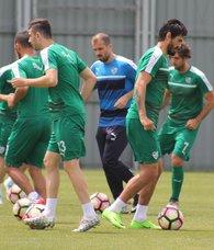 Bursasporda Antalyaspor hazırlığı