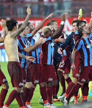 Trabzonspor ilkler pe�inde