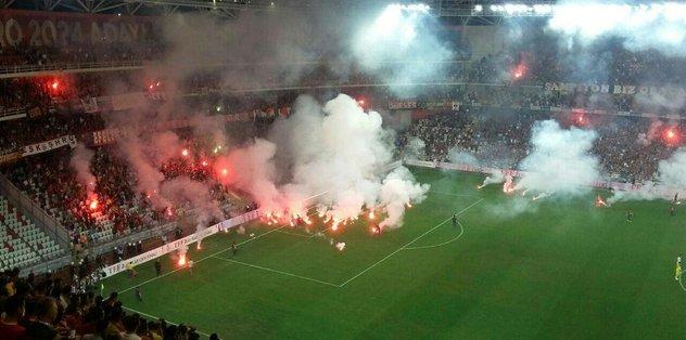Göztepe ve Eskişehir'in cezası belli oldu