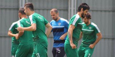 Bursaspor'da Antalyaspor hazırlığı