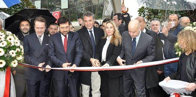 Beşiktaş Kulübünün yeni sosyal tesisi açıldı