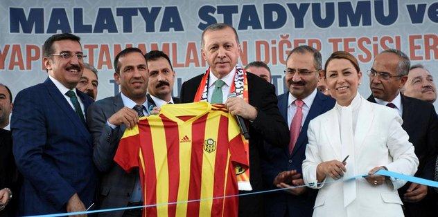 Erdoğan'dan '53 numaralı forma' esprisi