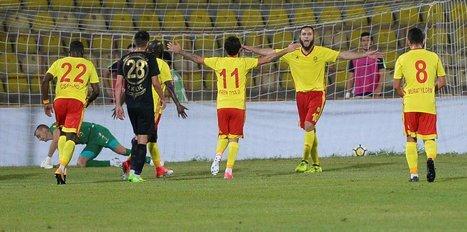 Osmanlıspor'u yendi, üç puanı kaptı