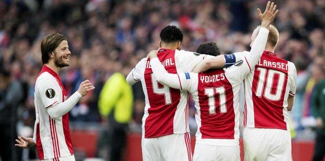 Ajax, Lyon'u perişan etti! ( 4 – 1 )