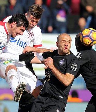 Antalyaspor'dan mucize galibiyet