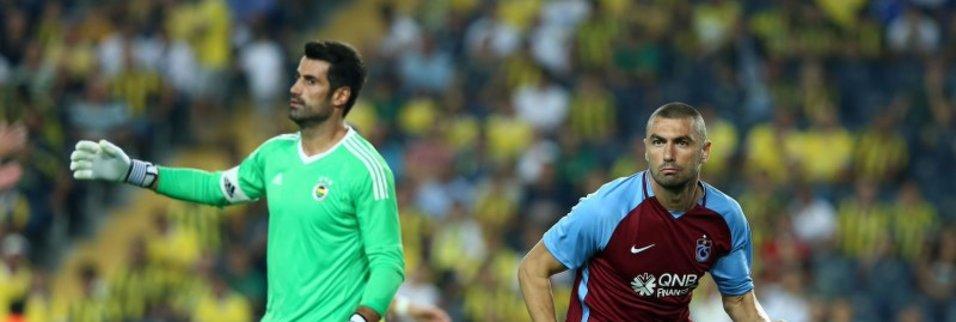 Burak Yılmaz 61. golü Fenerbahçe'ye attı
