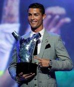 Avrupa'nın en iyisi Cristiano Ronaldo!