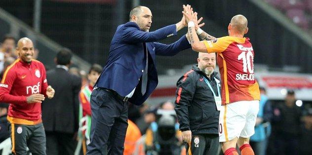 Sneijder'e özel izin