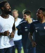 İdmana yeni transfer Djourou da katıldı