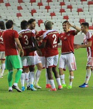 Sivasspor, seriyi 16 maça çıkardı