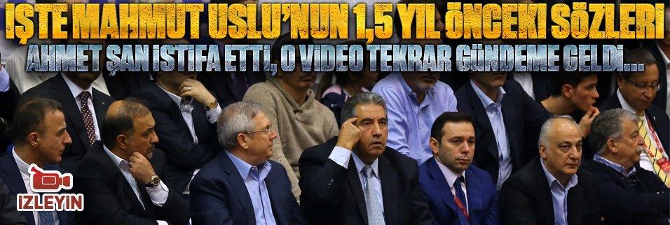 Ahmet Şan'ın istifası sonrası o görüntüler yeniden gündemde