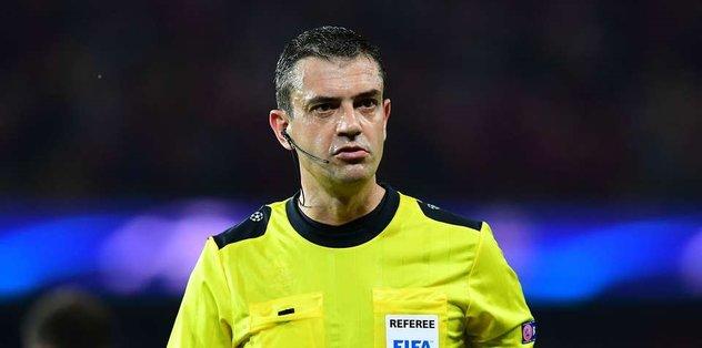 Hırvatistan maçının hakemi değişti