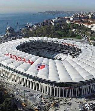 Vodafone Arena'da tüm kapılar kapandı!