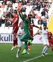 Sivas'ta gol kaçırma yarışı