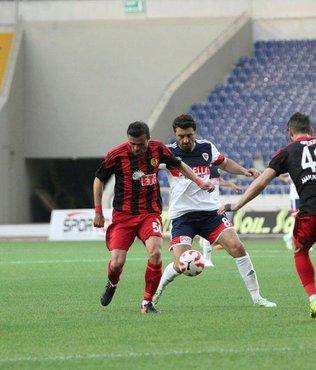 Eskişehirspor Mersin'i farklı yendi