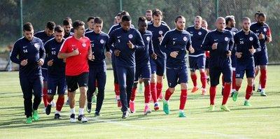 Antalyaspor'un Bolu kampı sürüyor