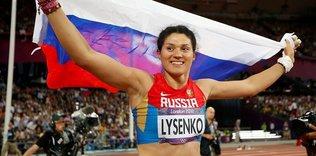 Rus sporcunun alt�n madalyas� geri al�nd�