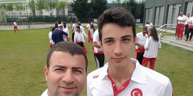 Torbalılı Ali Berk olimpiyatta yarışacak