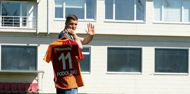Podolski'den Galatasaray'a veda!