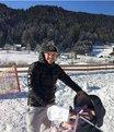 Poldi kayağa sardı!