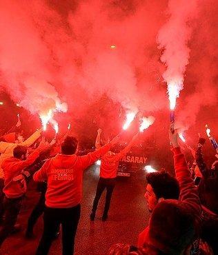 Galatasaray kafilesi Karabük'te