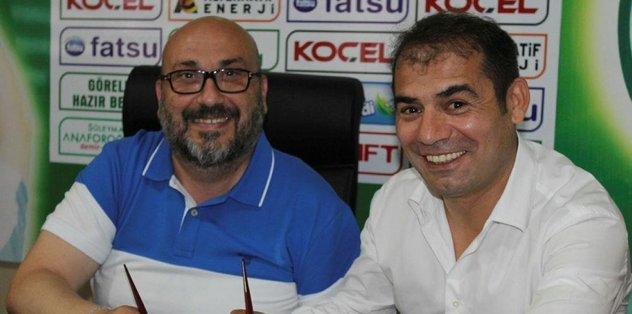 Giresunspor, Metin Diyadin ile imzaladı