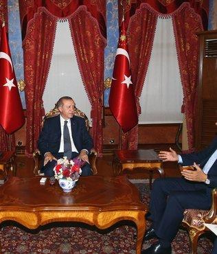 Lucescu'dan Cumhurbaşkanı Erdoğan'a ziyaret