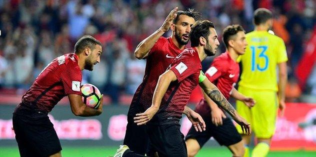 Turkey draws 2-2 with Ukraine