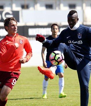 Trabzonspor U21 takımıyla oynadı