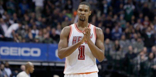 Bosh, Miami Heat'e veda etti