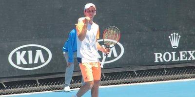 Ergi Kırkın, Türk tenis tarihine geçti