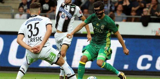 Hasan Ali'ye maskeli önlem