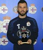 3. kez ayın futbolcusu seçildi