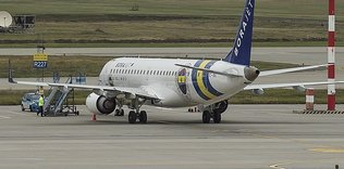 Fenerbahçe plane lands after bird strike