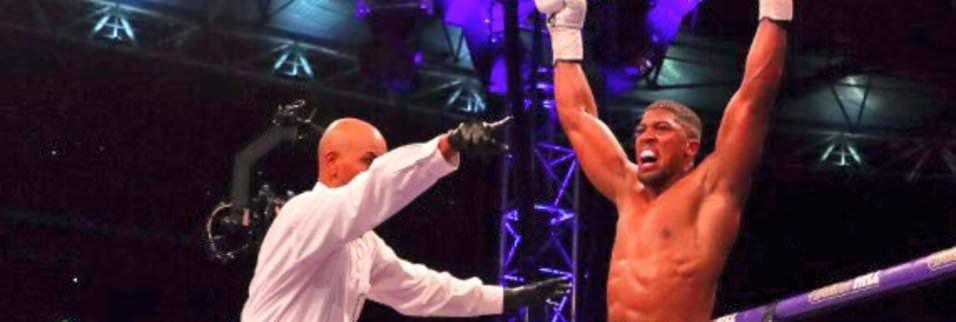 Anthony Joshua, Wladimir Klitschko'yu devirdi!