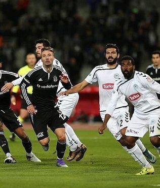 Be�ikta� ile Konyaspor 31. randevuda