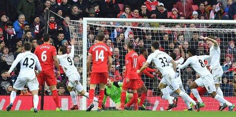 Swansea City'den sürpriz galibiyet