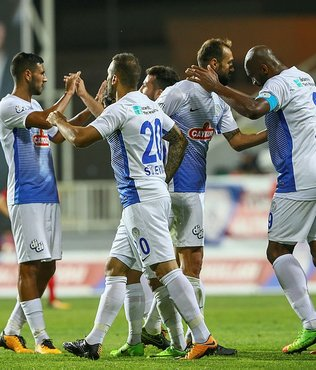 Çaykur Rizespor, TFF 1. Lig'e bol geldi!