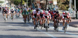 Alanya'da bisiklet yol yarışları sürüyor