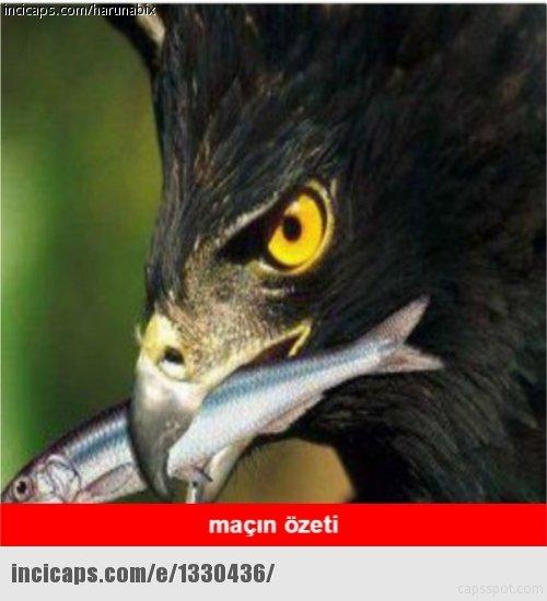 Trabzonspor - Beşiktaş maçı capsleri!