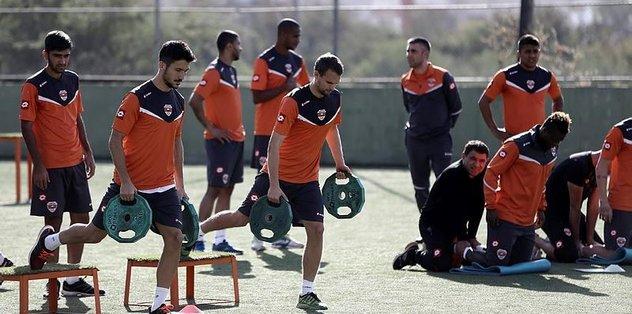 Adanaspor'da Beşiktaş hazırlıkları başladı
