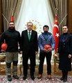 Erdoğan'a zirveden hediye geldi